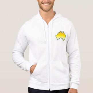 I Love Aussies! Australiana Design Hoodie