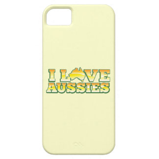 I Love Aussies! Australiana Design iPhone SE/5/5s Case