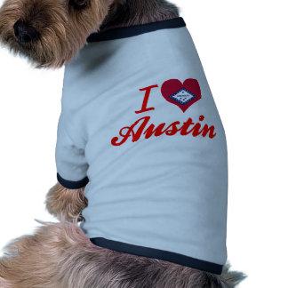 I Love Austin, Arkansas Dog Tee