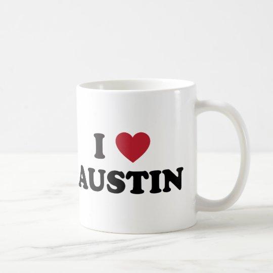I Love Austin Coffee Mug