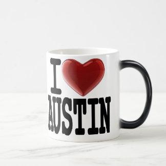 I Love AUSTIN Magic Mug