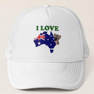 i Love Australia 1 Trucker Hat