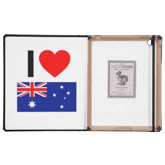 i love australia case for iPad