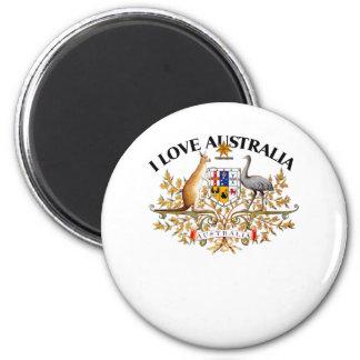 I LOVE AUSTRALIA-DESIGN 1 933958store Refrigerator Magnet
