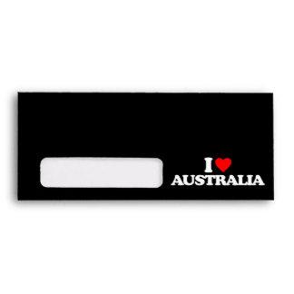I LOVE AUSTRALIA ENVELOPE