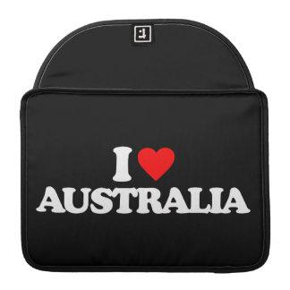 I LOVE AUSTRALIA SLEEVES FOR MacBook PRO
