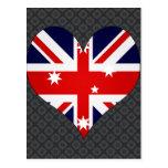 I Love Australia Post Card