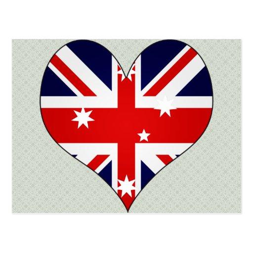 I Love Australia Post Cards