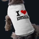 """I Love Australia Shirt<br><div class=""""desc"""">I Love Australia</div>"""