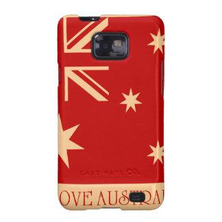 I love Australia - SS Galaxy case Samsung Galaxy SII Case