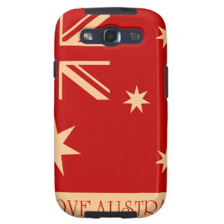 I love Australia - SS Galaxy case Samsung Galaxy SIII Covers