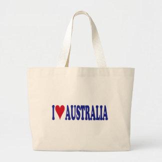 I Love Australia Tote Bags