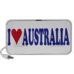 I Love Australia Travelling Speakers