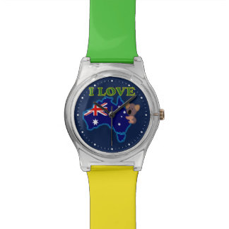 I love Australia Wristwatch