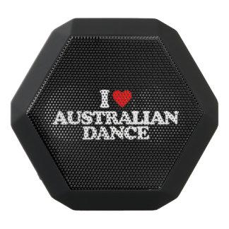 I LOVE AUSTRALIAN DANCE BLACK BLUETOOTH SPEAKER