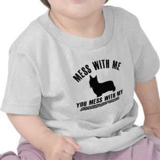 I love AUSTRALIAN SILKY TERRIER Tee Shirts