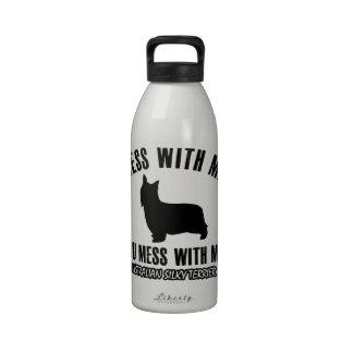 I love AUSTRALIAN SILKY TERRIER Water Bottles