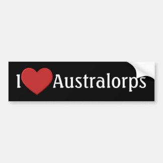 I love Australorps Bumper Sticker