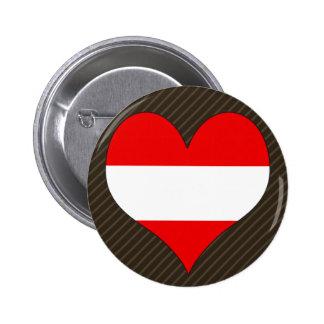I Love Austria Button