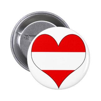 I Love Austria Pin
