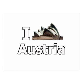 I love Austria tourist fail Post Card