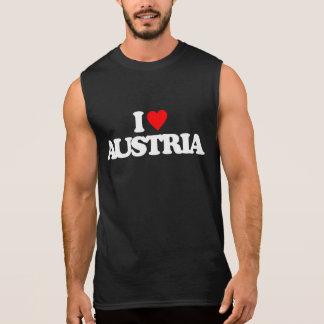 I LOVE AUSTRIA SLEEVELESS T-SHIRT