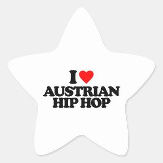 I LOVE AUSTRIAN HIP HOP STAR STICKER