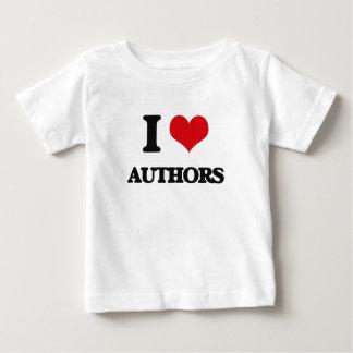I love Authors Tee Shirts
