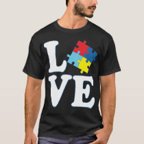 I Love Autism T-Shirt