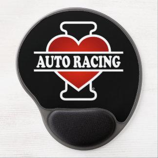 I Love Auto Racing Gel Mouse Pad