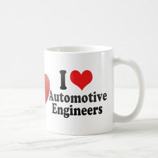 I Love Automotive Engineers Classic White Coffee Mug