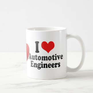 I Love Automotive Engineers Coffee Mug