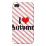I love Autumn iPhone 4 Case