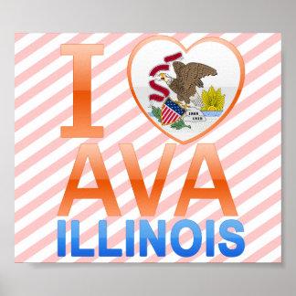 I Love Ava, IL Poster