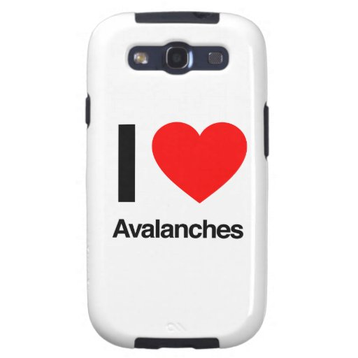i love avalanches samsung galaxy SIII covers