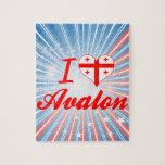 I Love Avalon, Georgia Puzzles