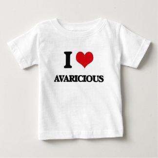 I Love Avaricious Infant T-shirt