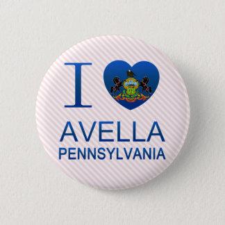 I Love Avella, PA Pinback Button