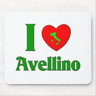 I Love Avellino Italy Mouse Pad