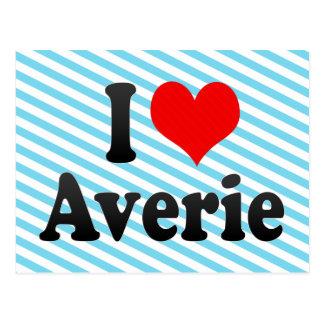 I love Averie Postcard