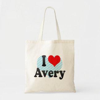 I love Avery Tote Bag