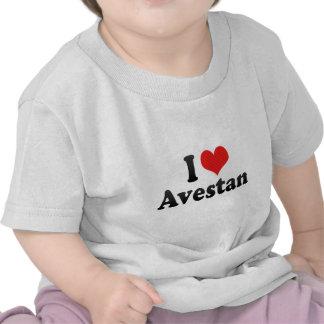 I Love Avestan Shirts
