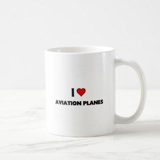 i love aviation Planes Coffee Mug