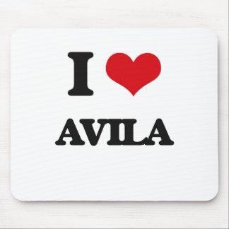 I Love Avila Mouse Pad