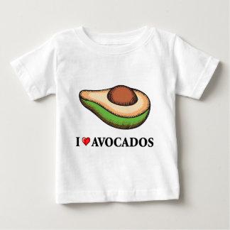 I Love Avocados Baby T-Shirt