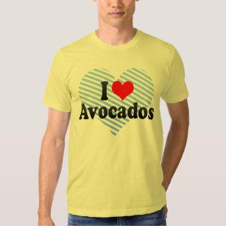 I Love Avocados Tees
