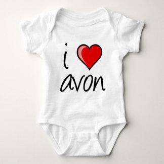 i love avon square baby bodysuit