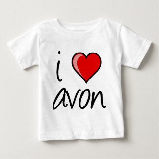 i love avon square baby T-Shirt