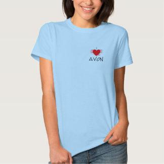 I Love Avon womans T-shirt
