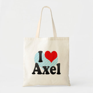 I love Axel Canvas Bags